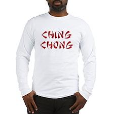 Ching Chong Long Sleeve T-Shirt