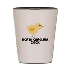North Carolina Chick Shot Glass