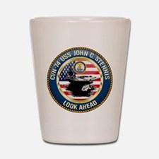 CVN-74 USS John C. Stennis Shot Glass