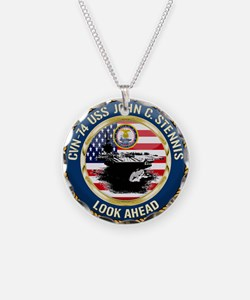 CVN-74 USS John C. Stennis Necklace