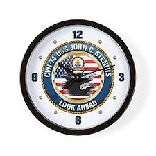CVN-74 USS John C. Stennis Wall Clock