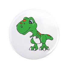 """Unique Dinosaur 3.5"""" Button (100 pack)"""