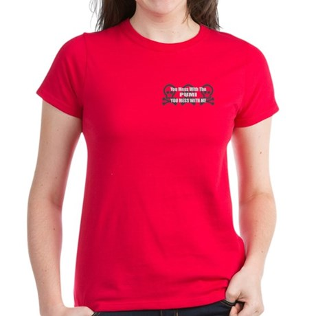 Mess With Pumi Women's Dark T-Shirt