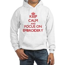 Unique Keep calm and crochet Hoodie