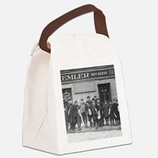 Delivering the Sunday Papers, 190 Canvas Lunch Bag