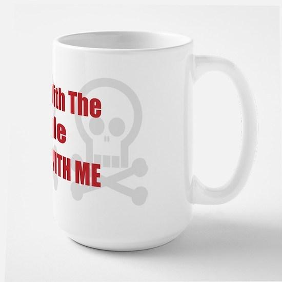 Mess With Puggle Large Mug