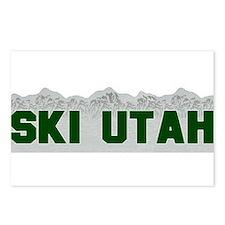 Ski Utah Postcards (Package of 8)