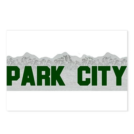 Park City, Utah Postcards (Package of 8)