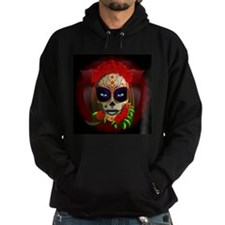 Skull Girl Dia de los Muertos Hoody
