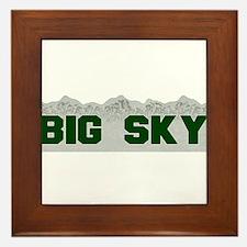 Big Sky Framed Tile