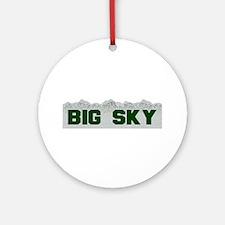 Big Sky Ornament (Round)