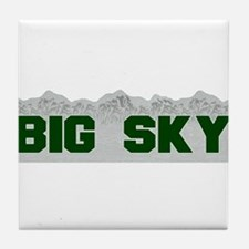 Big Sky Tile Coaster