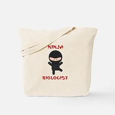Ninja Biologist Tote Bag