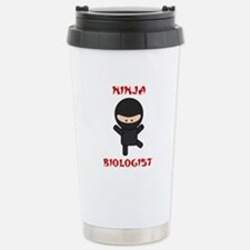 Ninja Biologist Stainless Steel Travel Mug