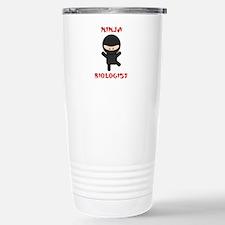Ninja Biologist Travel Mug