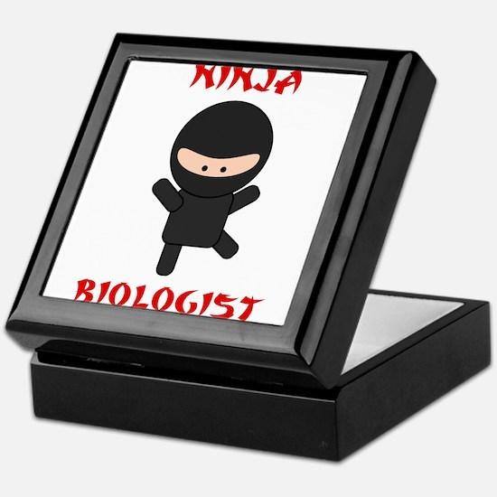 Ninja Biologist Keepsake Box