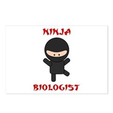 Ninja Biologist Postcards (Package of 8)