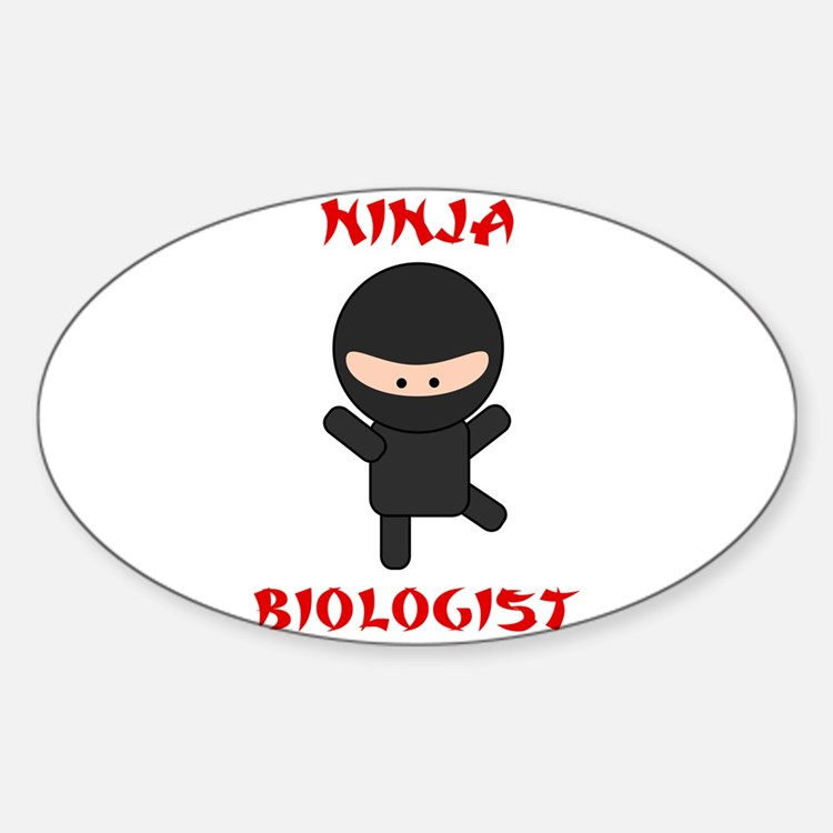 Ninja Biologist Decal