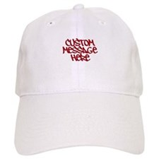 Custom Message Design Baseball Baseball Baseball Cap