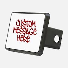 Custom Message Design Hitch Cover