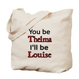 Thelma and louise Canvas Totes