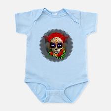 Skull Girl Dia de los Muertos Body Suit
