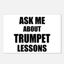 Ask me about Trumpet lessons Postcards (Package of