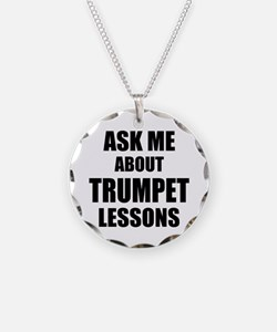 Ask me about Trumpet lessons Necklace