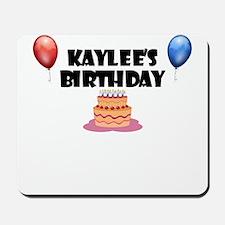 Kaylee's Birthday Mousepad