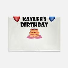 Kaylee's Birthday Rectangle Magnet