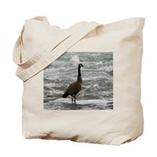 A Canadian goose Tote Bag