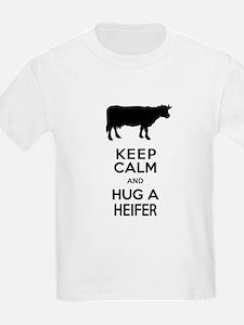 Keep Calm and Hug a Heifer T-Shirt
