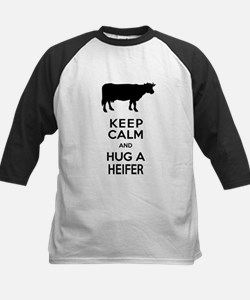Keep Calm and Hug a Heifer Baseball Jersey