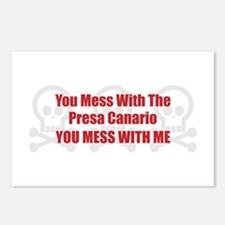 Mess With Presa Postcards (Package of 8)