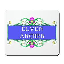Elven Archer Mousepad