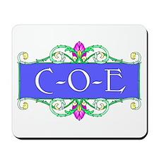 C-O-E Mousepad