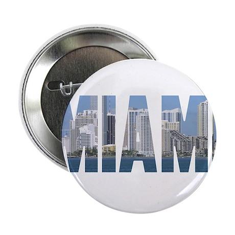 "Miami, Florida 2.25"" Button (100 pack)"