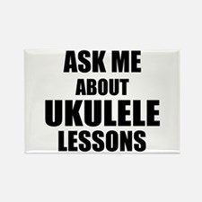 Ask me about Ukulele lessons Magnets