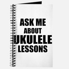 Ask me about Ukulele lessons Journal