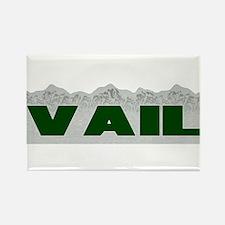 Vail, Colorado Rectangle Magnet