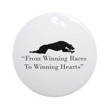 Winning Hearts Ornament (Round)