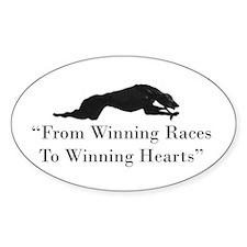 Winning Hearts Decal