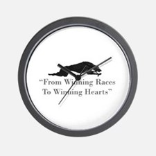 Winning Hearts Wall Clock