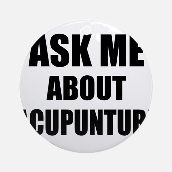 Ask me about Acupuncture Ornament (Round)