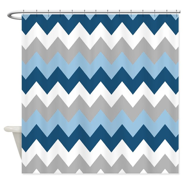 Blue Chevron Curtains Navy Blue Chevron Curtains Blue And White Chevron Curtain For Shower