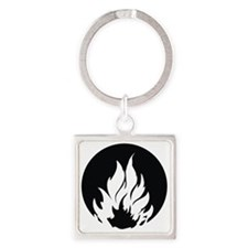 Dauntless Symbol Square Keychain