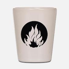 Dauntless Symbol Shot Glass