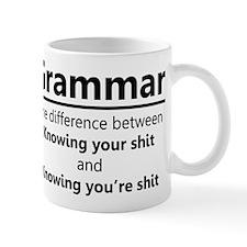 Grammar Humor Mugs