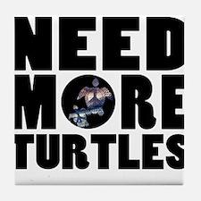 Turtles more Tile Coaster
