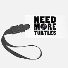 Turtles more Luggage Tag